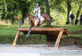 S.M. CORTEAUX is world champion 6yo eventing!